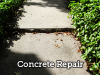 save money by repairing concrete