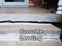 Concrete Repair & Raising   Mud jacking   Leveling - Concrete