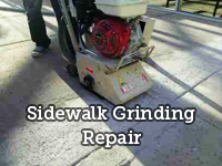 Sidewalk Grinding Repair