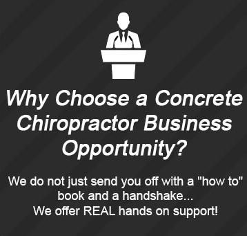 Concrete Chiropractor business